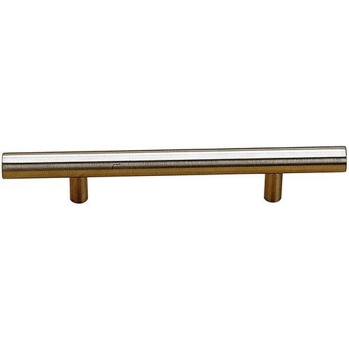 Richelieu Contemporary 5-1/32 Inch Center to Center Bar Pulls with Stainless Steel Finish BP3487128170AB