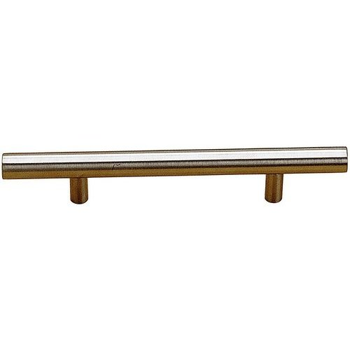 Richelieu Contemporary 5-5/8 Inch Center to Center Bar Pulls with Stainless Steel Finish BP3487143170