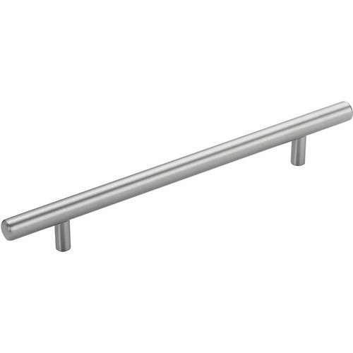 Richelieu Contemporary 7-1/8 Inch Center to Center Bar Pulls with Stainless Steel Finish BP3487181170AB