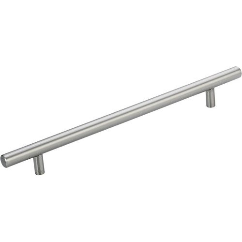 Richelieu Contemporary 8-5/8 Inch Center to Center Bar Pulls with Stainless Steel Finish BP3487219170AB