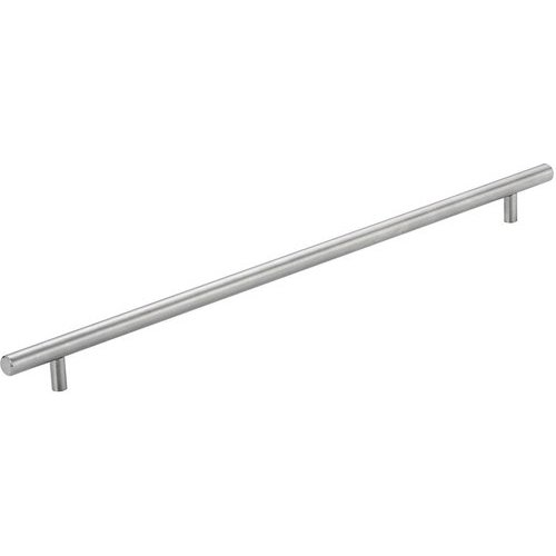 Richelieu Contemporary 16-1/8 Inch Center to Center Bar Pulls with Stainless Steel Finish BP3487410170