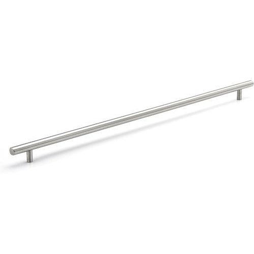 Richelieu Contemporary 22-1/8 Inch Center to Center Bar Pulls with Stainless Steel Finish BP3487562170
