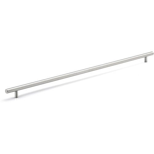 Richelieu Contemporary 25-1/8 Inch Center to Center Bar Pulls with Stainless Steel Finish BP3487638170