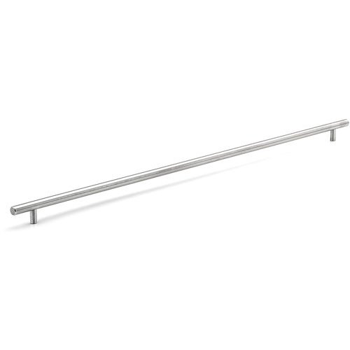 Richelieu Contemporary 28-1/8 Inch Center to Center Bar Pulls with Stainless Steel Finish BP3487714170