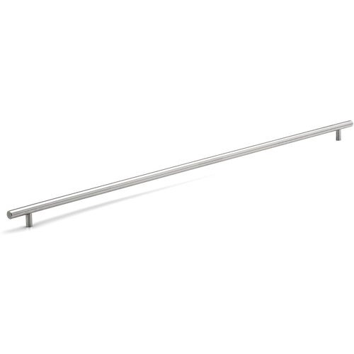 Richelieu Contemporary 31-1/8 Inch Center to Center Bar Pulls with Stainless Steel Finish BP3487790170