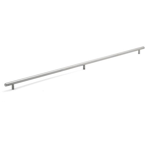 Richelieu Contemporary 34-1/8 Inch Center to Center Bar Pulls with Stainless Steel Finish BP3487867170