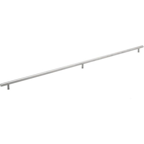 Richelieu Contemporary 37-1/8 Inch Center to Center Bar Pulls with Stainless Steel Finish BP3487943170