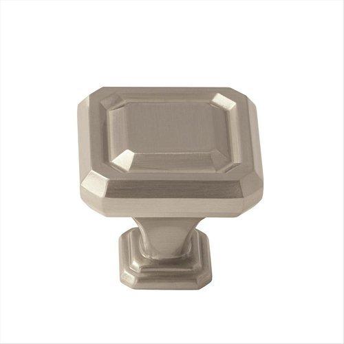 Amerock Wells 1-1/4 Inch Diameter Satin Nickel Cabinet Knob BP36546G10