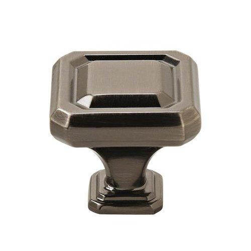 Amerock Wells Knob 1-1/4 inch Diameter Gunmetal BP36546GM