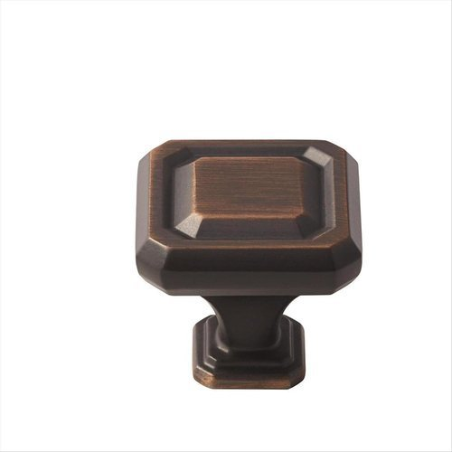 Amerock Wells 1-1/4 Inch Diameter Oil Rubbed Bronze Cabinet Knob BP36546ORB