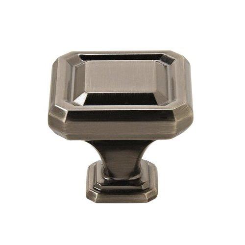 Amerock Wells Knob 1-1/2 inch Diameter Gunmetal BP36547GM