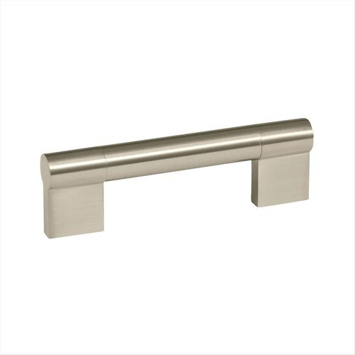 Amerock Kontur 3-3/4 Inch Center to Center Satin Nickel Cabinet Pull BP36565G10