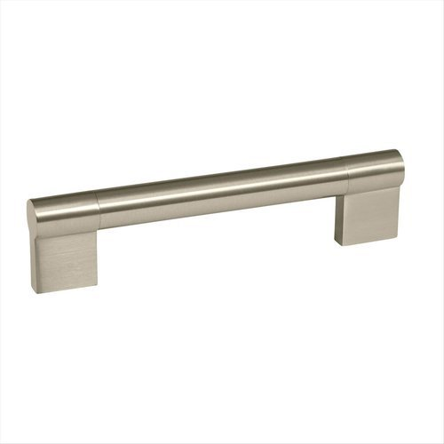 Amerock Kontur 5-1/16 Inch Center to Center Satin Nickel Cabinet Pull BP36566G10