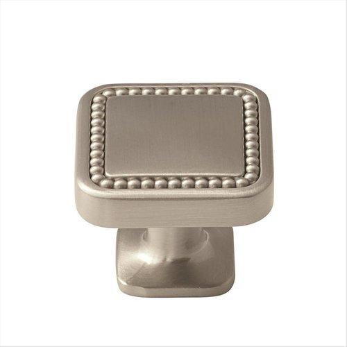 Amerock Carolyne 1-1/4 Inch Diameter Satin Nickel Cabinet Knob BP36582G10