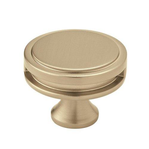 Amerock Oberon Knob 1-3/4 inch Diameter Golden Champagne BP36604BBZ