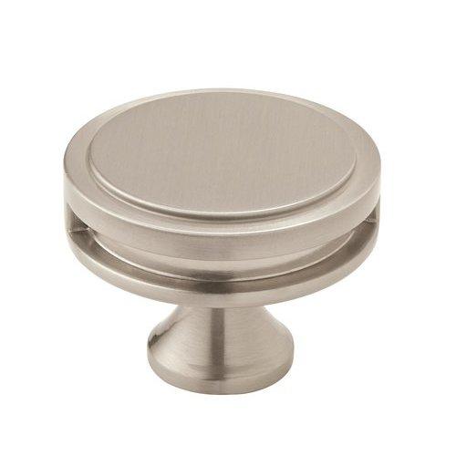Amerock Oberon Knob 1-3/4 inch Diameter Satin Nickel BP36604G10