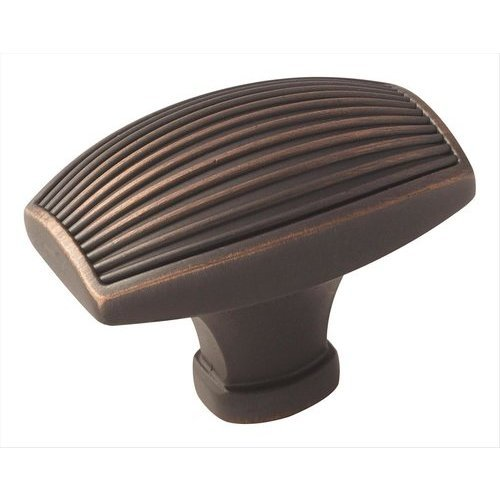 Amerock Sea Grass 1-3/4 Inch Diameter Oil Rubbed Bronze Cabinet Knob BP36617ORB