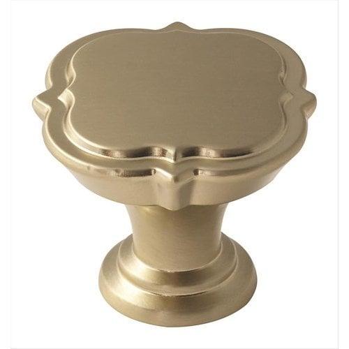 Amerock Grace Revitalize 1-3/8 Inch Diameter Golden Champagne Cabinet Knob BP36628BBZ