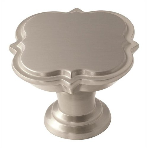 Amerock Grace Revitalize 1-3/4 Inch Diameter Satin Nickel Cabinet Knob BP36629G10