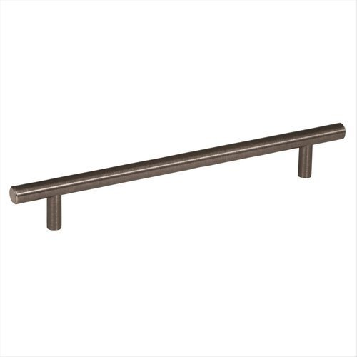 Amerock Bar Pulls 7-9/16 Inch Center to Center Gunmetal Cabinet Pull BP40518GM