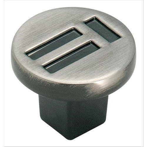 Evolutions 1-1/4 Inch Diameter Pewter Cabinet Knob <small>(#BP4421PWT)</small>