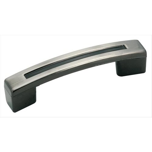 Amerock Evolutions 3 Inch Center to Center Pewter Cabinet Pull BP4422PWT