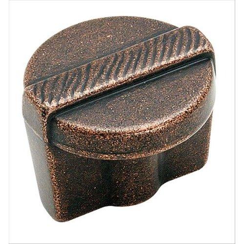 Amerock Forgings 1-1/4 Inch Diameter Rustic Bronze Cabinet Knob BP4427RBZ