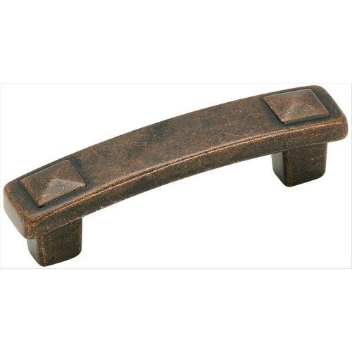 Amerock Forgings 3 Inch Center to Center Rustic Bronze Cabinet Pull BP4428RBZ