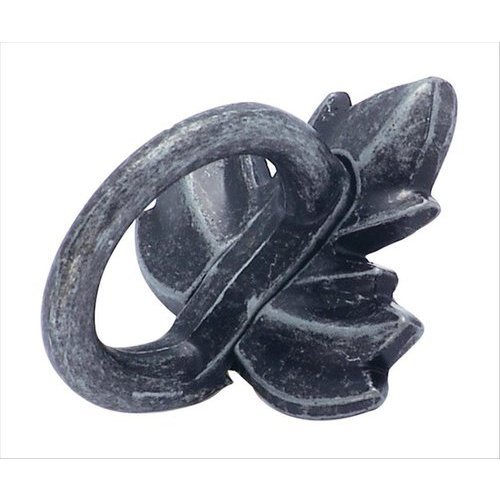 Amerock Natures Splendor 1-3/4 Inch Diameter Wrought Iron Dark Cabinet Ring Pull BP4452WID