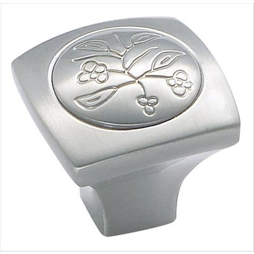 Vineyard 1-1/8 Inch Diameter Satin Nickel Cabinet Knob <small>(#BP4475G10)</small>