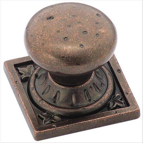 Amerock Ambrosia 1-1/4 Inch Diameter Rustic Bronze Cabinet Knob BP4484RBZ