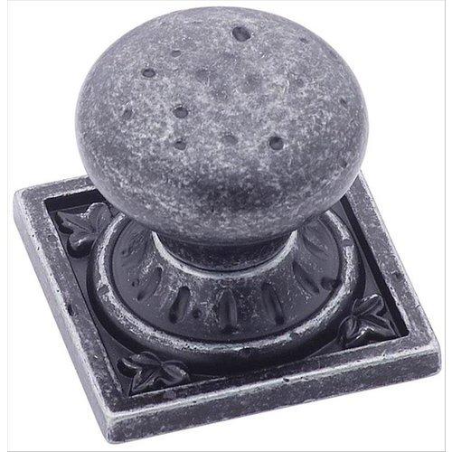 Amerock Ambrosia 1-1/4 Inch Diameter Wrought Iron Dark Cabinet Knob BP4484WID