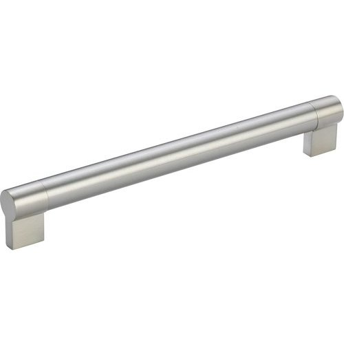 Richelieu Contemporary 10-1/8 Inch Center to Center Bar Pulls with Nickel Finish BP500256195