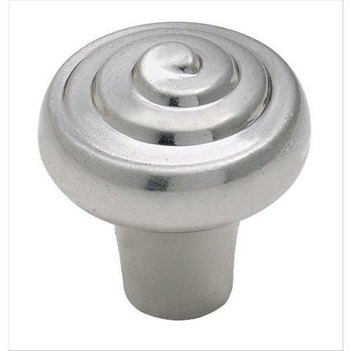 Amerock Divinity 1-1/4 Inch Diameter Sterling Nickel Cabinet Knob BP5261G9