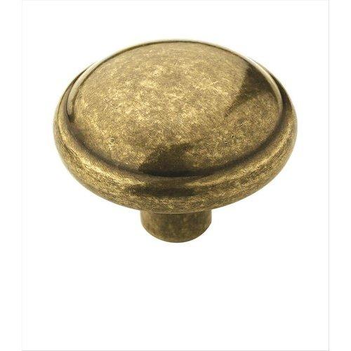 Amerock Allison Value Hardware 1-1/4 Inch Diameter Burnished Brass Cabinet Knob BP53000BB