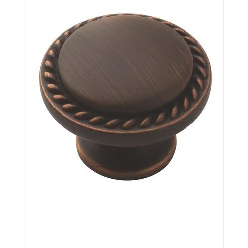 Amerock Allison Value Hardware 1-1/8 Inch Diameter Oil Rubbed Bronze Cabinet Knob BP53001ORB