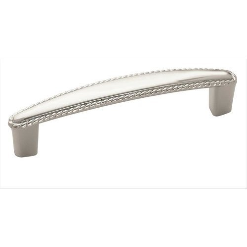 Amerock Allison Value Hardware 3-3/4 Inch Center to Center Polished Chrome Cabinet Pull BP5300426