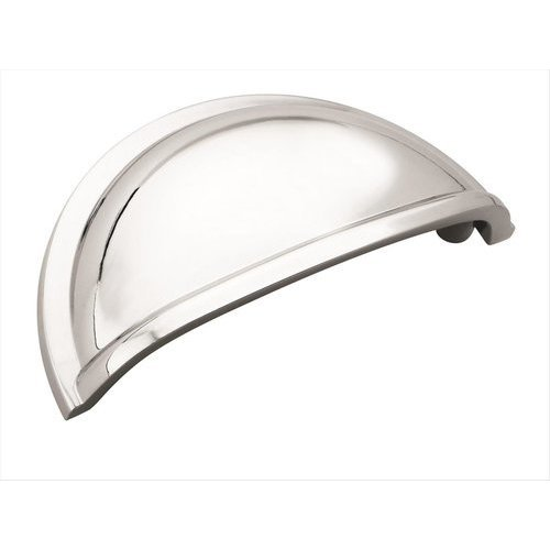 Amerock Cup Pulls 3 Inch Center to Center Polished Chrome Cabinet Cup Pull BP5301026
