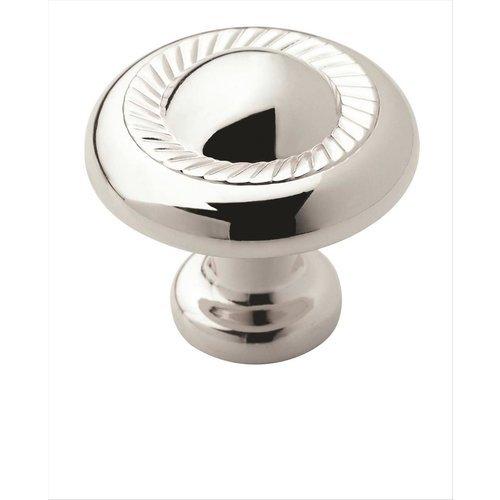 Amerock Allison Value Hardware 1-1/4 Inch Diameter Polished Chrome Cabinet Knob BP5302226