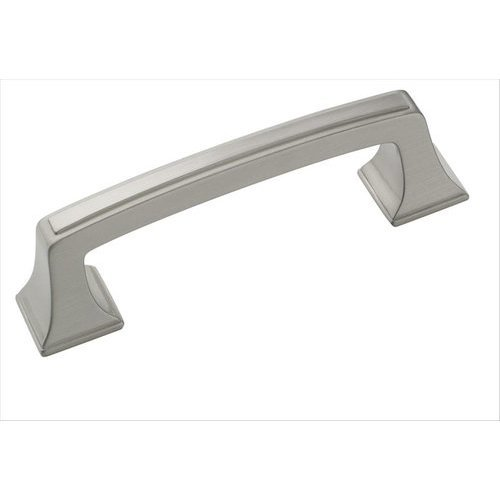 Mulholland 3 Inch Center to Center Satin Nickel Cabinet Pull <small>(#BP53030G10)</small>