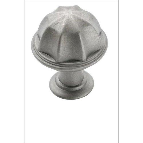 Amerock Eydon 1 Inch Diameter Weathered Nickel Cabinet Knob BP53035WN