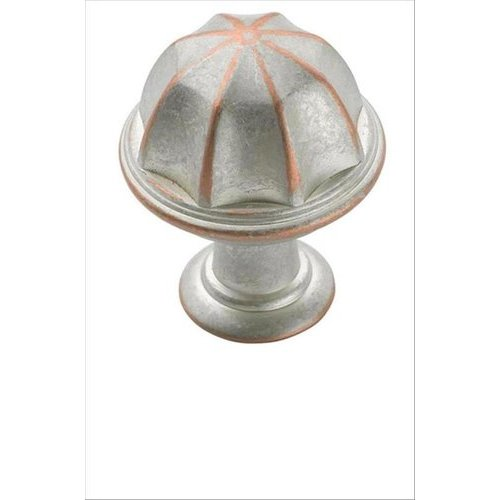 Eydon 1 Inch Diameter Weathered Nickel/copper Cabinet Knob <small>(#BP53035WNC)</small>