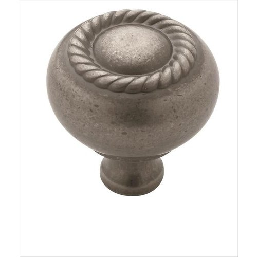 Allison Value Hardware 1-1/4 Inch Diameter Weathered Nickel Cabinet Knob <small>(#BP53471WN)</small>