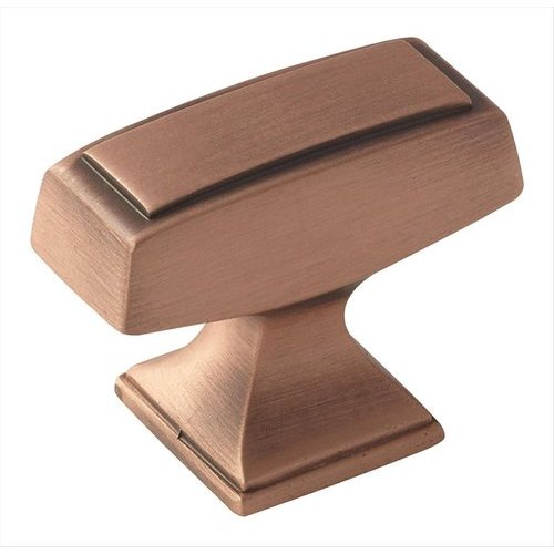 Amerock Mulholland 1-1/2 Inch Diameter Brushed Copper Cabinet Knob BP535342BC