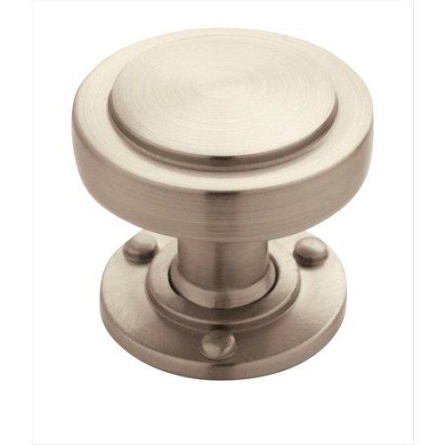 Amerock Rochdale 1-1/4 Inch Diameter Satin Nickel Cabinet Knob BP53710G10