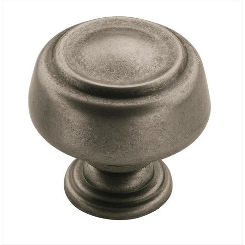 Kane 1-9/16 Inch Diameter Weathered Nickel Cabinet Knob <small>(#BP538072WN)</small>