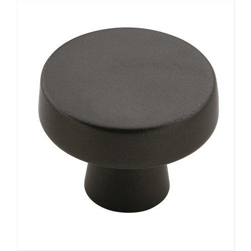Amerock Blackrock 1-5/16 Inch Diameter Black Bronze Cabinet Knob BP55270BBR