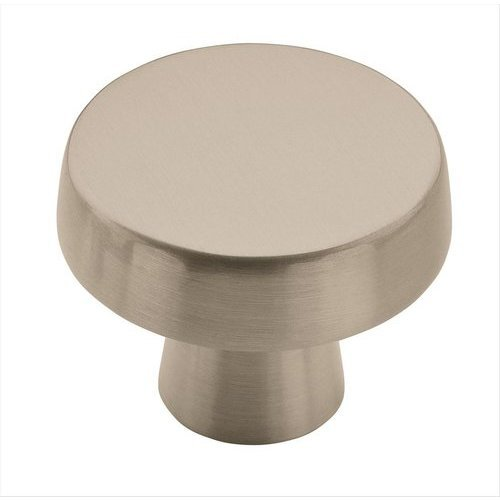 Amerock Blackrock 1-3/8 Inch Diameter Satin Nickel Cabinet Knob BP55272G10