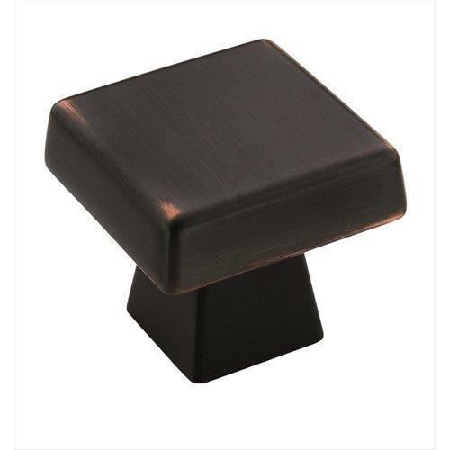 Amerock Blackrock 1-1/2 Inch Diameter Oil Rubbed Bronze Cabinet Knob BP55273ORB
