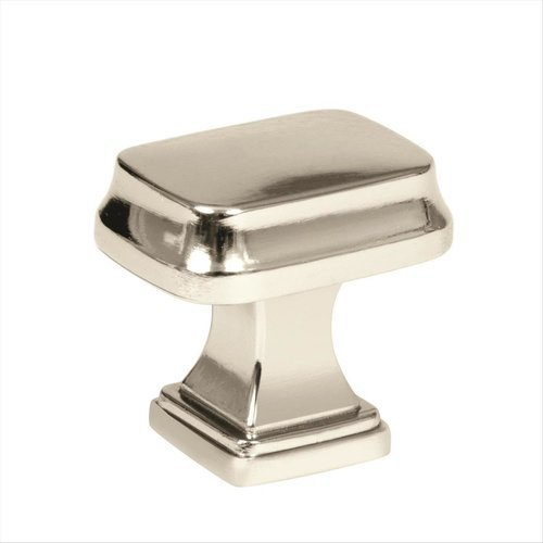 Amerock Revitalize 1-1/4 Inch Diameter Polished Nickel Cabinet Knob BP55340PN